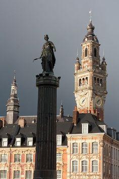 Colonne de la Déesse, Lille, Nord-Pas-de-Calais.