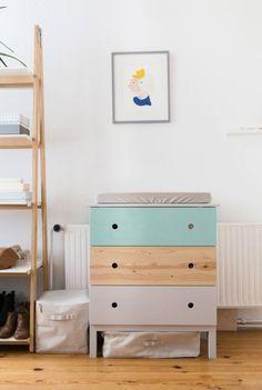Ikea Hack Tarva Three Drawer Dresser Painted In Farrow And Ball