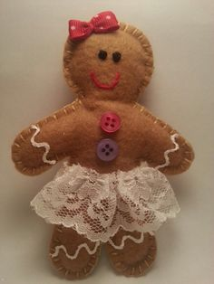 Gingerbread girl Gingerbread Cookies, Pasta, Jar, Christmas Ornaments, Holiday Decor, Home Decor, Ideas, Xmas Ornaments, Homemade Home Decor