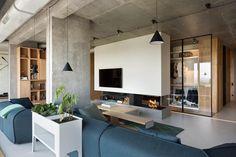 Attico open space in stile loft urbanoLiving Corriere