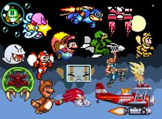 Classic Gaming Characters