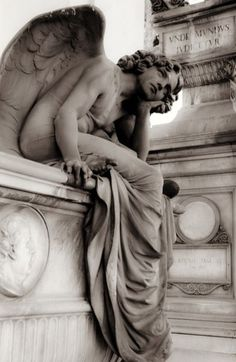 "SIGHT OF THE TOMBS — ghostlywatcher:     Giulio Monteverde  ""The Angel..."