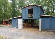 Dairy Barn by Ralph Klein Building A Container Home, Container House Design, Tiny House Design, Container Houses, Shipping Container Workshop, Shipping Container House Plans, Shipping Containers, Barn Plans, Shed Plans