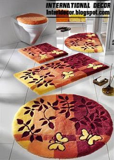 Today Bathroom Rugs Are Often Placed In Bathrooms To Keep Your Feet Warm Also Prevent You From Slipping Can Be Displayed