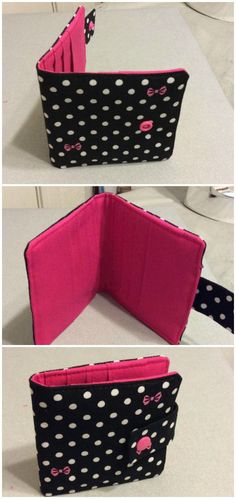 The best and easiest wallet I ever made. The tips you get with this pattern are invaluable for all aspects of sewing, bags, wallets and more. Wallet sewing pattern.