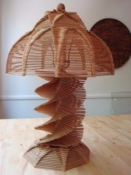 I'd love to try and make this with popsicle sticks.