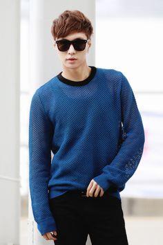 EXO | EXO-M | Zhang Yixing (lay) |  posing for Lookbook | tumblr