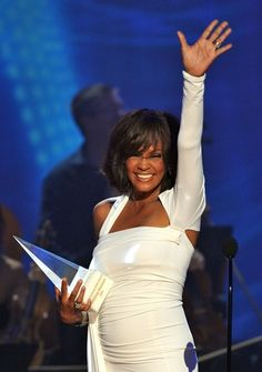 Whitney at the 2009 American Music Awards.