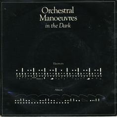 """Orchestral Manoeuvres in the Dark x Peter Saville.  """"OMD"""".  Yeah, """"If You Leave"""" is most def one of the best songs of the '80's.  In my humble opinion..."""