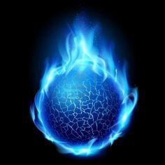 fuego azul 3d - Buscar con Google By: Hectoralbes