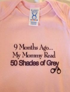 Ongepaste kindermode - fifty shades of grey - Famme - Famme.nl