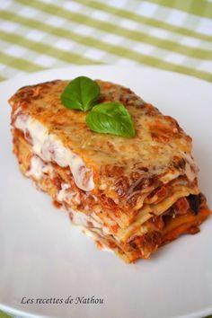 Les recettes de Nathou: Lasagnes bolognaises