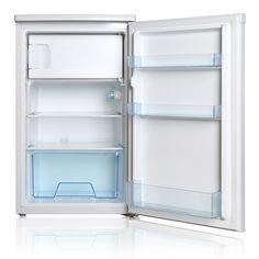 Midea 220 v 50 hz mini handleiding ontdooien horizontale koelkast 3.5 cu ft hoge kwaliteit compressor koelkast vriezer