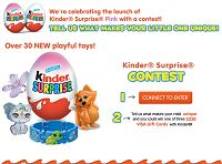 Kinder Surprise – Win A $250 Visa Gift Card Visa Gift Card, Cards, Gifts, Presents, Maps, Favors, Playing Cards, Gift