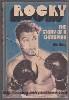 1971 Rocky Marciano ROCKY: STORY OF A CHAMPION book by Bill Libby, hardcover, Messner