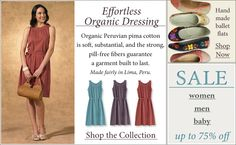 Fair Trade Clothing | Organic and Eco Friendly Clothing | Fair Indigo
