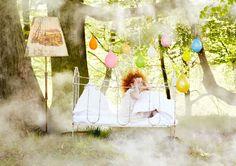 Tobias Stäbler on plsr. Tea Party Theme, Kid Styles, Color Photography, Children Photography, Ladder Decor, Fairy Tales, Kids Fashion, Balloons, Tobias