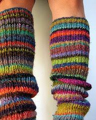 Nancy's Arts, Crafts & Favorites: Leg Warmers to Knit or Crochet
