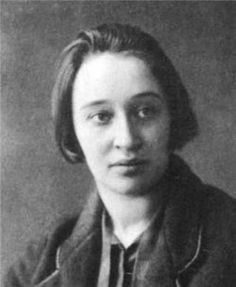 Nadezhda Mandelstam, wife of Osip. A hero of world lit, since she memorized all of Osip's poetry and prose for posterity in case it should be destroyed, as well as wrote two invaluable memoirs.