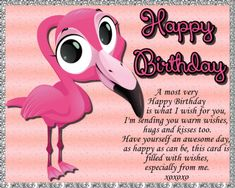 A cute card full of birthday wishes for someone special! Free online A Most Very Happy Birthday ecards on Birthday Happy Birthday Ecard, Birthday Wishes Funny, Birthday Songs, Very Happy Birthday, Birthday Images, Boy Birthday, Birthday Cards, Happy Panda, My Wish For You