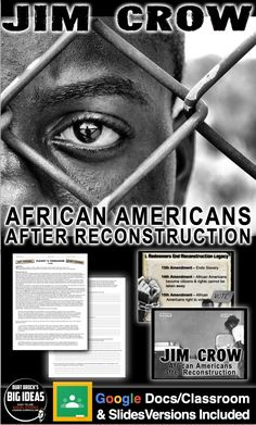 Teaching American History, American History Lessons, Teaching History, 5th Grade Social Studies, Teaching Social Studies, Martial, History Lesson Plans, Jim Crow, Primary Sources