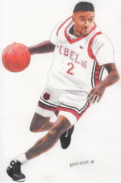 Anderson Hunt Of The 1989 90 National Championship UNLV Runnin Rebels Basketball Team