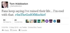 Hiddles is fine with it