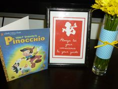 Pinocchio centerpiece