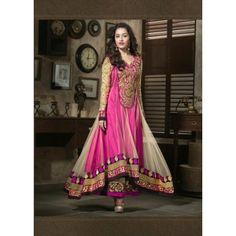Shraddha Kapoor Heavy Worked Designer Embroidered Anarkali Suit