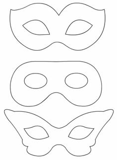 Carnival Mask coloring pages - TuttoD . Carnival Dress, Carnival Outfits, Carnival Rides, Mardi Gras Mask Template, Carnival Crafts, Masquerade Party, Art Lessons Elementary, Mask For Kids, Superhero Party