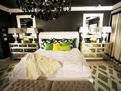 The call it eclectic on pinterest television ux ui for David bromstad bedroom designs
