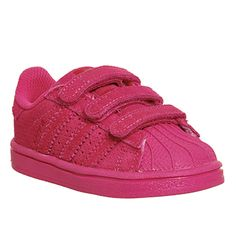 Adidas Superstar Infant 2-9 Eqt Pink Mono Suede - Unisex