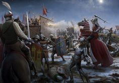 Bataille de Kutna Hora - 1422 ( défaite des extrémistes hussites )