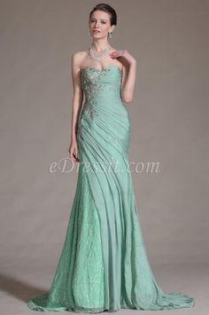eDressit 2014 New Stunning Green Strapless Evening Gown (00146704)