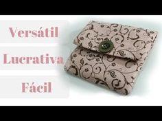 Como Fazer - Carteirinha Versátil, Rápida e Lucrativa - Luciene Ferretti - YouTube