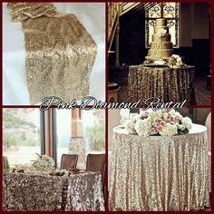 Pink Diamond Elegance Rental order for your next event