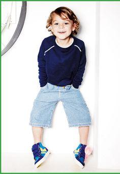 Mini Boden Oskosh stripe pants for boys!