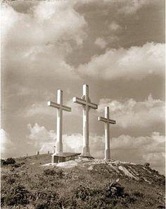 Las Tres Cruces. Mauricio EspinosaFOTOS ANTIGUAS SANTIAGO DE CALI