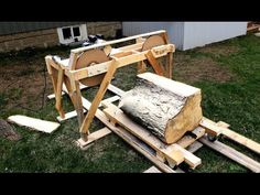 Making A Band Saw Mill From Scratch / Homemade Shop Machines And Equipment / Forums