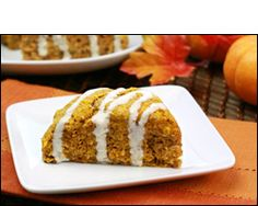 HG's Pumpkin, Spice & Everything Iced Scones ~ 4WW Points Plus