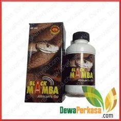 MINYAK PEMBESAR PENIS ALAMI BLACK MAMBA AFRIKA OIL ORIGINAL