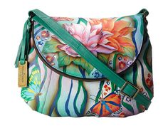 Anuschka Handbags 482 Zebra Garden - Zappos.com Free Shipping BOTH Ways