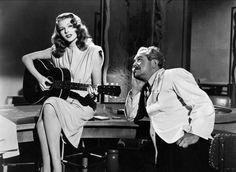 "Gilda - 1946. Rita Hayworth plays ""Put the blame on Mame"""