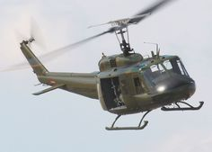 "Bell UH-1 Iroquois 'Huey' tactical transport helicopter. I flew A's and D's going through Army Advance Rotary Wing Flight School in Georgia. Then qualed in the Marine ""E"" model befor Cobra transition."