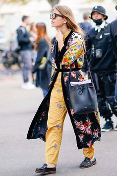 See how street style stars wear a robe coat then shop our own under-$50 version for Target!