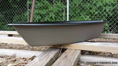 The Party Pirogue is a blank slate of Cajun creativity. Using custom graphics and lettering of your choice, let us personalize a unique ice chest, serving boat for hot boiled seafood, wedding centerpiece or even a planter or water feature for your lawn and patio!