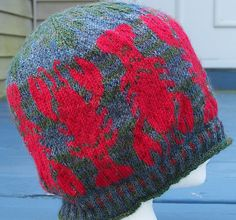 Ravelry: Lobster on the Rocks pattern by Donna Ritchie