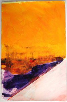 Ana Sério Película de Fósforo #3, 2015, 98x65cm #Artist #AnaSério #Colorful #Paintings #Oil on #Paper at #SaoMamede #Art #Gallery in #Algarve #Portugal