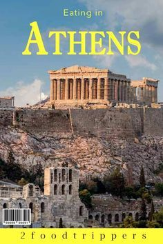 Athens | Greece | Athens Greece | Europe | Athens Food | Athens Food Guide | Athens Restaurants | Where to Eat in Athens Greece | Best Places to Eat in Athens Greece | Eat Like a Local in Athens Greece | Greek Food | Moussaka | #Athens #AthensFood #AthensRestaurants