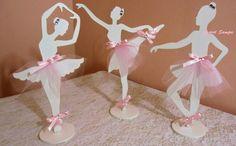 Bailarina de mdf